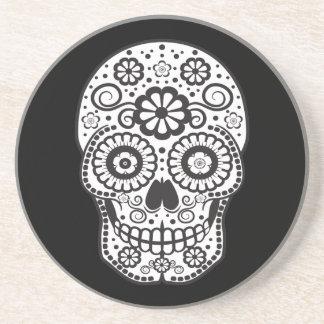 Smiling Sugar Skull Coaster
