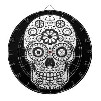 Smiling Sugar Skull Dartboard
