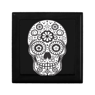 Smiling Sugar Skull Gift Box