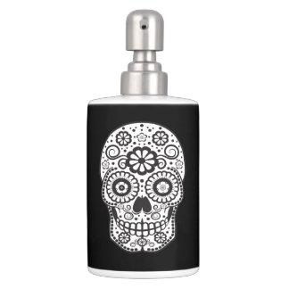 Smiling Sugar Skull Soap Dispensers