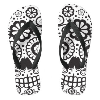 Smiling Sugar Skull Thongs