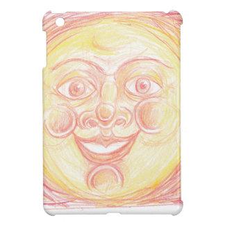 Smiling Sun Face iPad Mini Cover