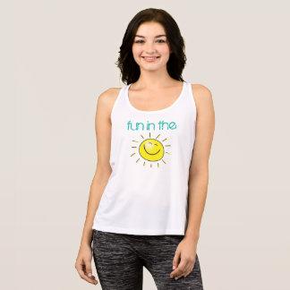 Smiling Sun Fun In The Sun Summer Tank Top