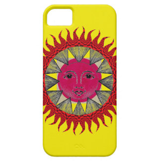 Smiling Sun iPhone 5 Cover