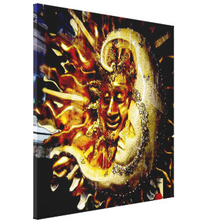 Smiling Sun-Sleeping Moon - Italian Gallery Wrap Canvas