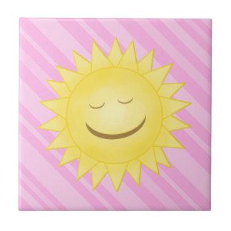 Smiling Sun Tile B