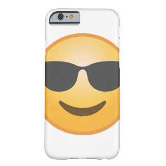 Smiling Sunglasses Emoji Barely There iPhone 6 Case