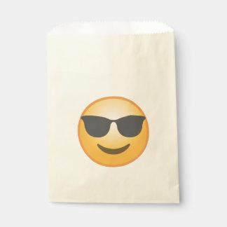 Smiling Sunglasses Emoji Favour Bag