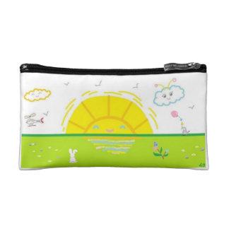 Smiling Sunrise Cosmetic Bag