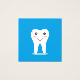 Smiling Tooth Happy Dentist Business Cards