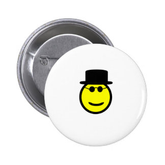 Smiling Tophat Button