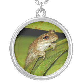 Smiling tree frog Necklace