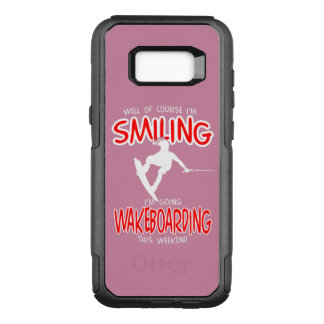 SMILING WAKEBOARDING Weekend 1 WHITE OtterBox Commuter Samsung Galaxy S8+ Case