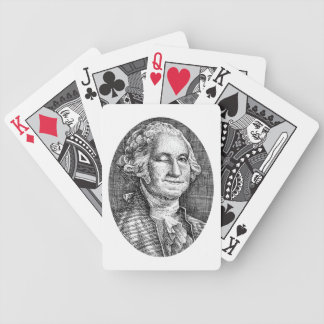 Smiling Winking George Washington Deck of Cards