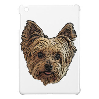 Smiling Yorkie iPad Cover