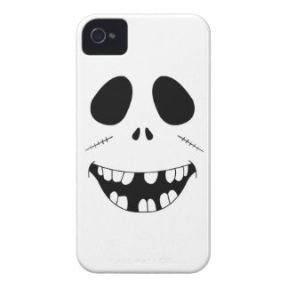 Smiling Zombie Face iPhone 4 Case-Mate Cases