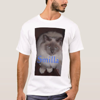Smilla the Birman Cat T-Shirt