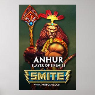 SMITE: Anhur, Slayer of Enemies Poster