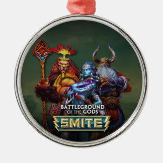SMITE: Gods Silver-Colored Round Decoration