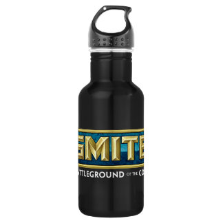 SMITE Logo Battleground of the Gods 532 Ml Water Bottle