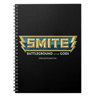 SMITE Logo Battleground of the Gods Spiral Notebook