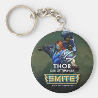 SMITE: Thor, God of Thunder Keychain