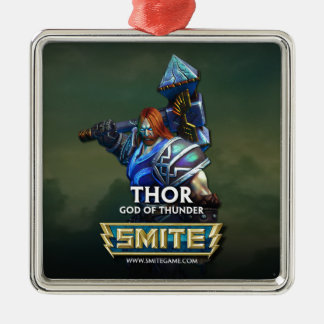 SMITE: Thor, God of Thunder Metal Ornament