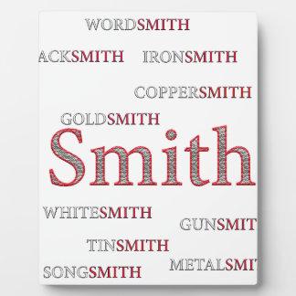 SMITH BRAND PLAQUE