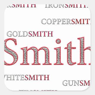 SMITH BRAND SQUARE STICKER