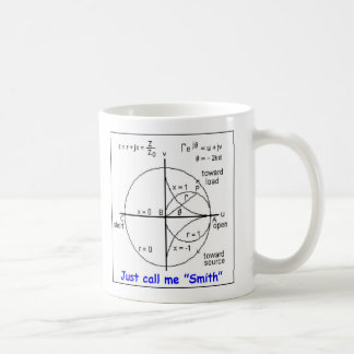 SMITH CHART COFFEE MUG