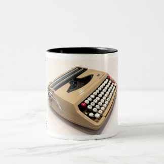 Smith-Corona Corsair typewriter Two-Tone Coffee Mug