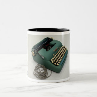 Smith-Corona Electric portable typewriter Two-Tone Mug