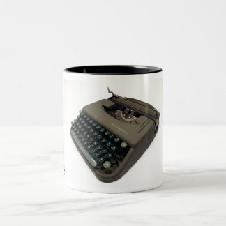 Smith-Corona Skyriter - 1949 Two-Tone Coffee Mug