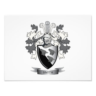 Smith Family Crest Coat of Arms Art Photo