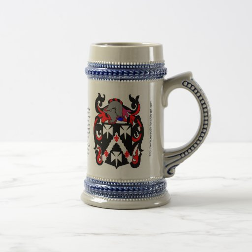 Smith Family Crest Stein Mug