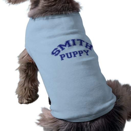 Smith Puppy T-shirt Pet T Shirt
