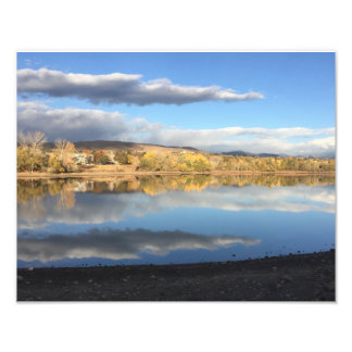 Smith Reservoir Reflections Photo Print