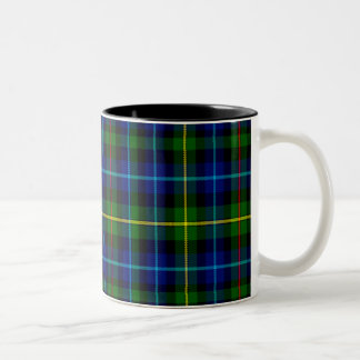 Smith Scottish Tartan Two-Tone Coffee Mug