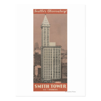 Smith Tower, Seattle's Observatory Postcard