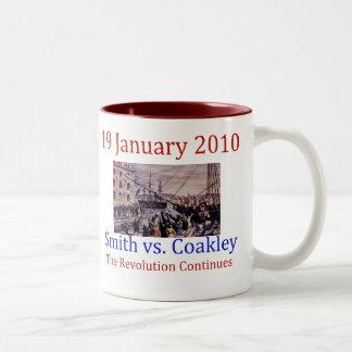 Smith vs Coakley Coffee Mugs