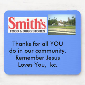 Smith's Grocery Mouse Pad