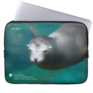 Smithsonian   Sea Lion Laptop Sleeve