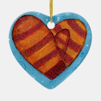 Smitten Ceramic Heart Decoration