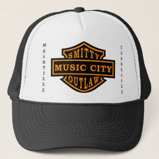 Smitty Outlaw Biker Hat