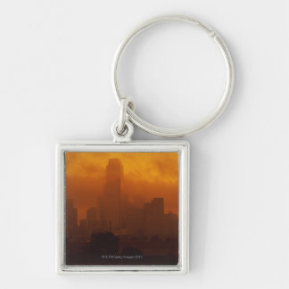 Smog in the City Keychain