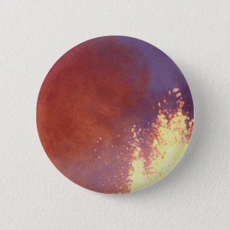 smoke and fire 6 cm round badge