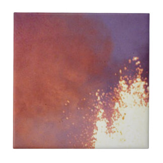 smoke and fire ceramic tile