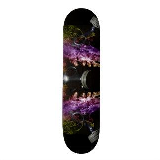 Smoke and Mask Skate Board
