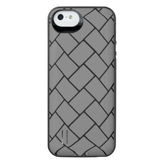 Smoke Basket Weave 2 iPhone SE/5/5s Battery Case