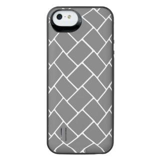 Smoke Basket Weave iPhone SE/5/5s Battery Case